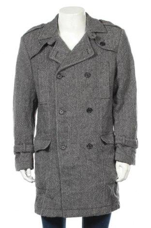 Мъжко палто Bruno Banani, Размер M, Цвят Сив, Цена 21,53лв.