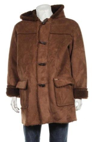 Мъжко палто Gipsy, Размер L, Цвят Кафяв, Полиестер, Цена 31,24лв.