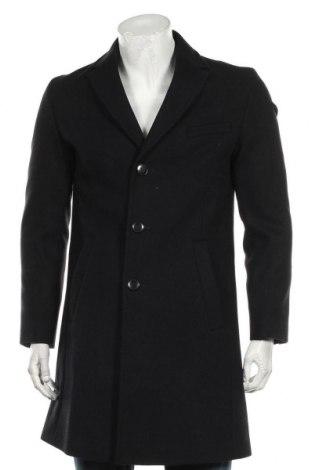 Pánský kabát  Hugo Boss, Velikost M, Barva Černá, 70% vlna, 20% polyester, 10% polyamide, Cena  6291,00Kč