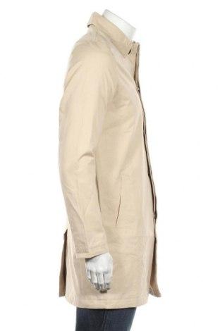 Мъжко палто Kiomi, Размер S, Цвят Бежов, Памук, Цена 46,92лв.