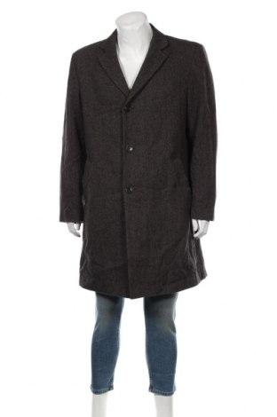 Мъжко палто Montego, Размер L, Цвят Кафяв, 70% вълна, 30% полиамид, Цена 16,80лв.