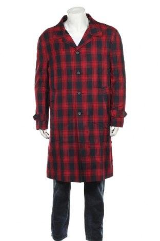 Мъжко палто NIGHT ADDICT, Размер L, Цвят Червен, 67% полиестер, 33% вискоза, Цена 59,25лв.