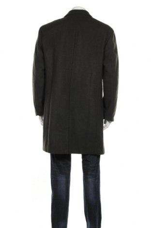 Мъжко палто Selected Homme, Размер XXL, Цвят Зелен, 62% вълна, 33% полиестер, 5% други нишки, Цена 89,64лв.