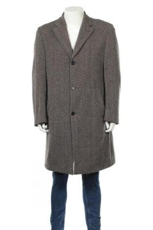 Мъжко палто Theo Wormland, Размер XL, Цвят Сив, 70% вълна, 30% полиамид, Цена 20,74лв.