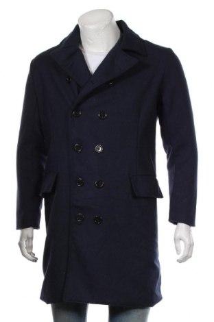Palton de bărbați Vska, Mărime L, Culoare Albastru, Preț 205,91 Lei