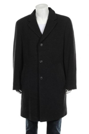 Мъжко палто Wohrl, Размер XL, Цвят Черен, 70% вълна, 20% полиамид, 10% кашмир, Цена 69,72лв.