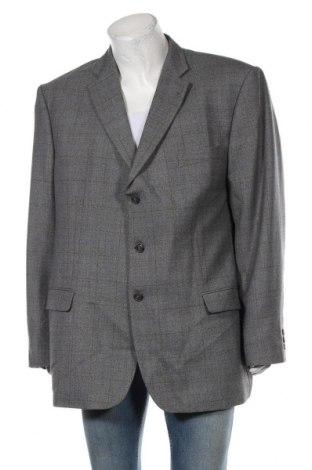 Мъжко сако, Размер 3XL, Цвят Сив, 55% полиестер, 45% вълна, Цена 26,25лв.