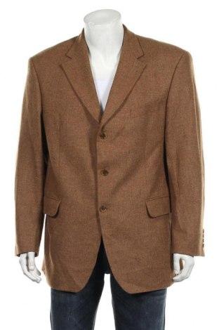 Мъжко сако Atelier Torino, Размер L, Цвят Кафяв, Вълна, Цена 7,35лв.