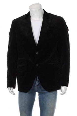 Мъжко сако Baldessarini, Размер XL, Цвят Черен, 99% памук, 1% еластан, Цена 51,03лв.