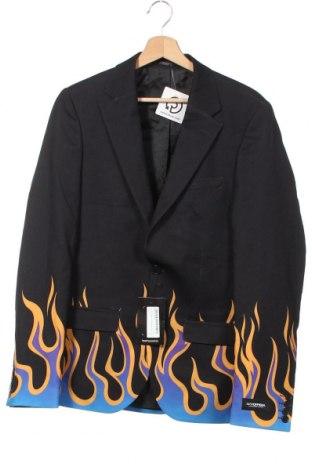 Ανδρικό σακάκι Boohoo, Μέγεθος XS, Χρώμα Μαύρο, 95% πολυεστέρας, 5% ελαστάνη, Τιμή 22,81€