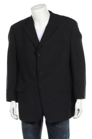 Мъжко сако Carl Gross, Размер XL, Цвят Черен, 96% вълна, 4% еластан, Цена 28,00лв.