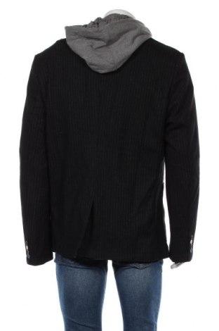 Мъжко сако Desigual, Размер XL, Цвят Черен, 80% полиестер, 20% вълна, Цена 128,57лв.