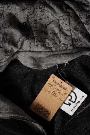 Мъжко сако Desigual, Размер XL, Цвят Черен, 80% полиестер, 20% вълна, Цена 89,70лв.