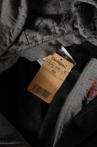 Мъжко сако Desigual, Размер L, Цвят Черен, 80% полиестер, 20% вълна, Цена 89,70лв.