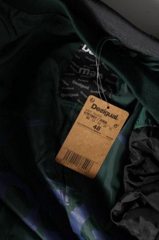 Мъжко сако Desigual, Размер M, Цвят Сив, Памук, Цена 65,70лв.