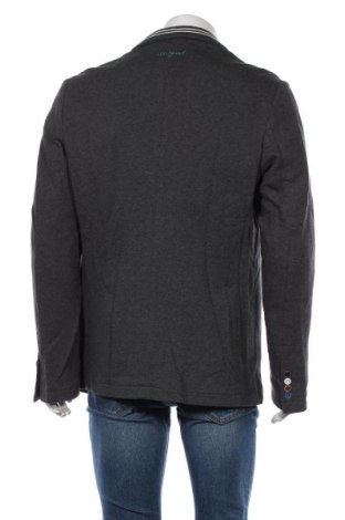 Мъжко сако Desigual, Размер XL, Цвят Сив, Памук, Цена 65,70лв.