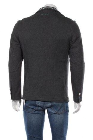 Мъжко сако Desigual, Размер L, Цвят Сив, Памук, Цена 65,70лв.