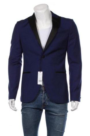 Ανδρικό σακάκι Isaac Dewhirst, Μέγεθος L, Χρώμα Μπλέ, 79% πολυεστέρας, 21% βισκόζη, Τιμή 42,14€