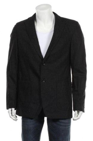 Мъжко сако Rene Lezard, Размер M, Цвят Сив, 95% вълна, 5% кашмир, Цена 16,43лв.