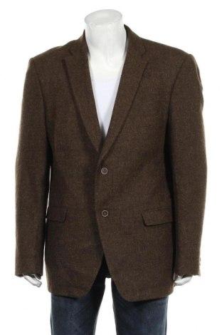 Мъжко сако Roy Robson, Размер XL, Цвят Кафяв, Вълна, Цена 62,21лв.