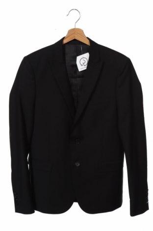 Ανδρικό σακάκι The Kooples, Μέγεθος M, Χρώμα Μαύρο, 84% μαλλί, 16% μοχαίρ, Τιμή 34,79€