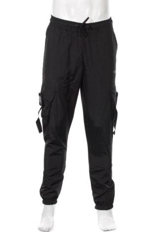 Ανδρικό αθλητικό παντελόνι Boohoo, Μέγεθος S, Χρώμα Μαύρο, Πολυεστέρας, Τιμή 15,08€