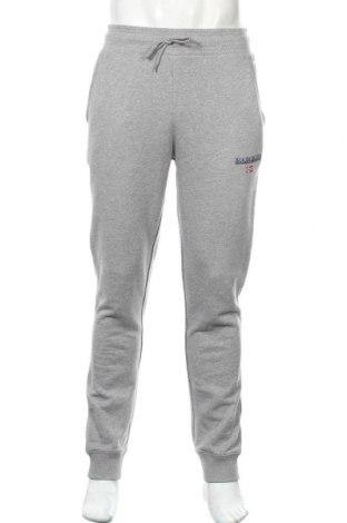 Ανδρικό αθλητικό παντελόνι Napapijri, Μέγεθος L, Χρώμα Γκρί, Βαμβάκι, Τιμή 53,74€