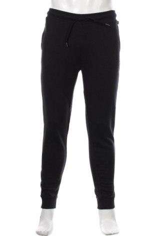 Ανδρικό αθλητικό παντελόνι Napapijri, Μέγεθος S, Χρώμα Μαύρο, Βαμβάκι, Τιμή 53,74€