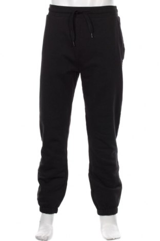 Ανδρικό αθλητικό παντελόνι Napapijri, Μέγεθος L, Χρώμα Μαύρο, Βαμβάκι, Τιμή 53,74€