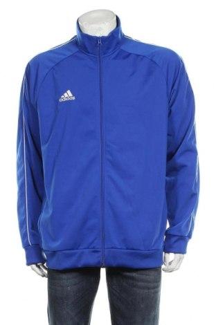 Мъжко спортно горнище Adidas, Размер XL, Цвят Син, 100% полиестер, Цена 69,00лв.
