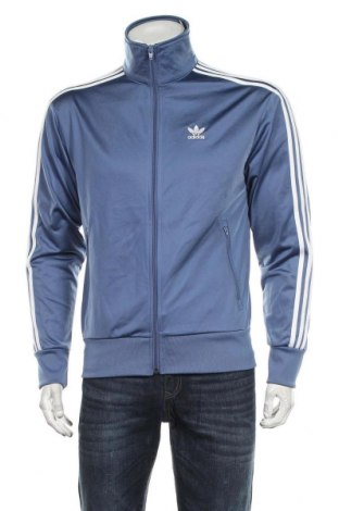 Ανδρική αθλητική ζακέτα Adidas Originals, Μέγεθος S, Χρώμα Μπλέ, Πολυεστέρας, Τιμή 38,27€