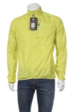 Мъжко спортно яке CMP, Размер L, Цвят Зелен, Полиестер, Цена 74,97лв.