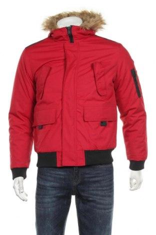 Мъжко яке, Размер S, Цвят Червен, Полиестер, Цена 75,05лв.