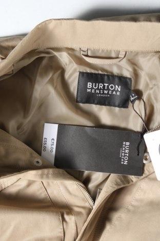 Мъжко яке Burton of London, Размер M, Цвят Бежов, 62% памук, 38% полиестер, Цена 37,41лв.