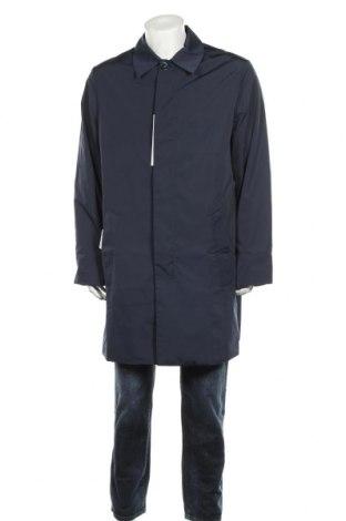 Мъжко яке Calvin Klein, Размер L, Цвят Син, Полиестер, Цена 175,45лв.