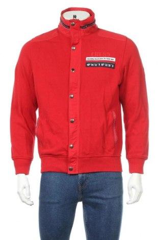 Ανδρικό μπουφάν Christian Berg, Μέγεθος S, Χρώμα Κόκκινο, Βαμβάκι, Τιμή 17,81€