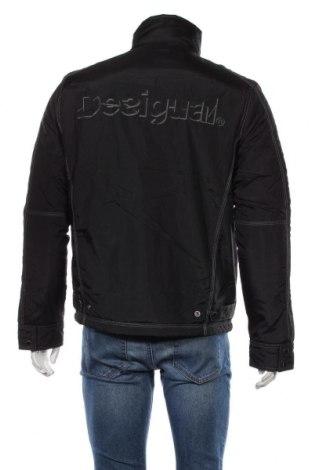 Мъжко яке Desigual, Размер L, Цвят Черен, Полиестер, Цена 216,75лв.