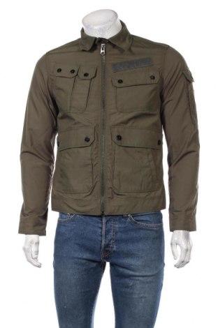 Мъжко яке G-Star Raw, Размер S, Цвят Зелен, 65% полиестер, 35% памук, Цена 95,37лв.
