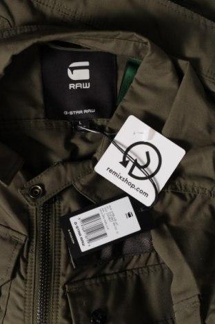 Мъжко яке G-Star Raw, Размер L, Цвят Зелен, 65% полиестер, 35% памук, Цена 73,37лв.