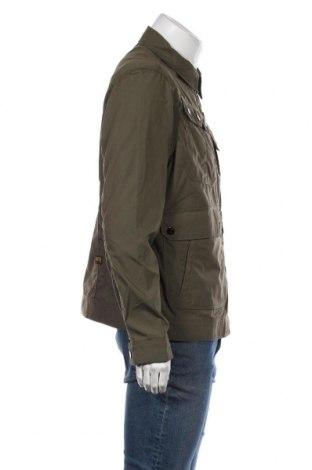 Мъжко яке G-Star Raw, Размер XL, Цвят Зелен, 65% полиестер, 35% памук, Цена 73,37лв.
