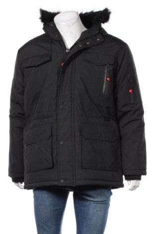 Мъжко яке Geographical Norway, Размер L, Цвят Черен, Полиамид, Цена 246,75лв.