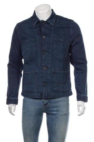 Мъжко яке Jack & Jones, Размер M, Цвят Син, 98% памук, 2% еластан, Цена 62,55лв.