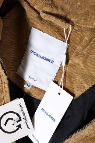 Мъжко яке Jack & Jones, Размер XS, Цвят Бежов, 98% памук, 2% еластан, Цена 59,34лв.