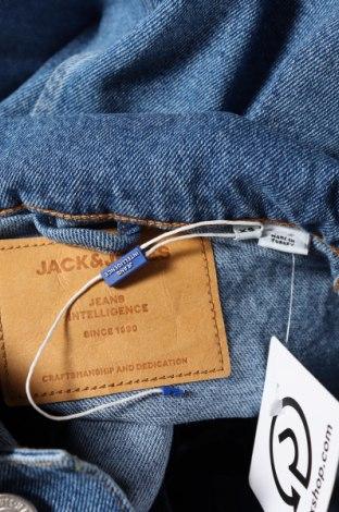Мъжко яке Jack & Jones, Размер XS, Цвят Син, Памук, Цена 57,77лв.