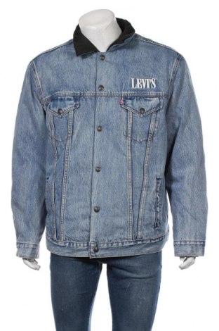 Ανδρικό μπουφάν Levi's, Μέγεθος XL, Χρώμα Μπλέ, Βαμβάκι, πολυαμίδη, Τιμή 108,75€
