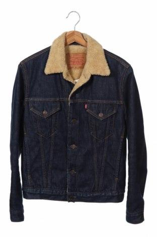 Ανδρικό μπουφάν Levi's, Μέγεθος M, Χρώμα Μπλέ, Βαμβάκι, Τιμή 32,94€