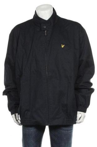 Ανδρικό μπουφάν Lyle & Scott, Μέγεθος 3XL, Χρώμα Μπλέ, Βαμβάκι, Τιμή 90,13€