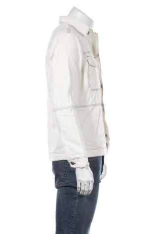 Мъжко яке Mennace, Размер S, Цвят Бял, Памук, Цена 53,72лв.
