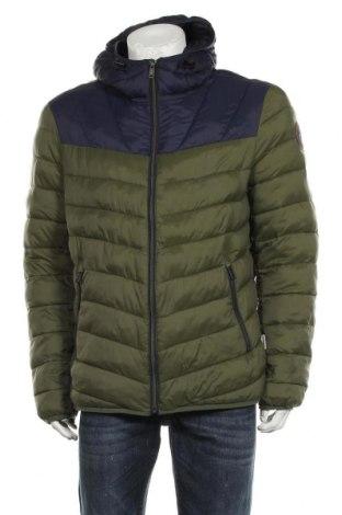 Ανδρικό μπουφάν Napapijri, Μέγεθος XL, Χρώμα Πράσινο, Πολυαμίδη, Τιμή 119,46€