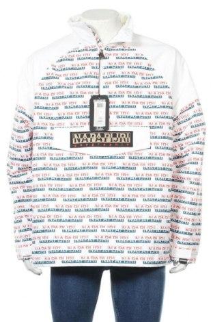 Мъжко яке Napapijri, Размер L, Цвят Бял, 100% полиестер, Цена 115,15лв.